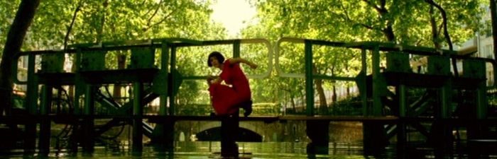 screen capture of Le Fabuleux Destin d'Amelie Poulain