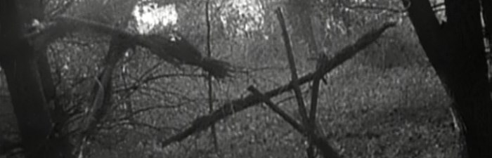 screen capture of The Blair Witch Project