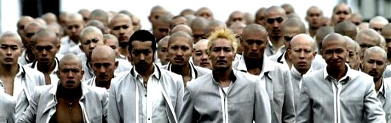 screen cap of Crows Zero II
