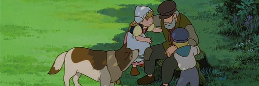 screen capture of The Dog of Flanders