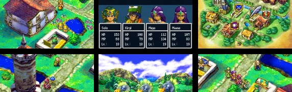 Dragon Quest IV DS screen cap