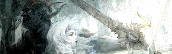 Final Fantasy IV DS artwork