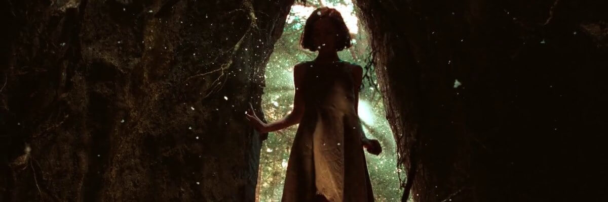 screen capture of Pan's Labyrinth [El Laberinto del Fauno]