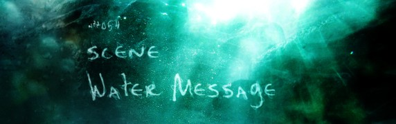 Water Message cover extract