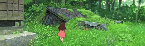 screen capture of Wolf Children