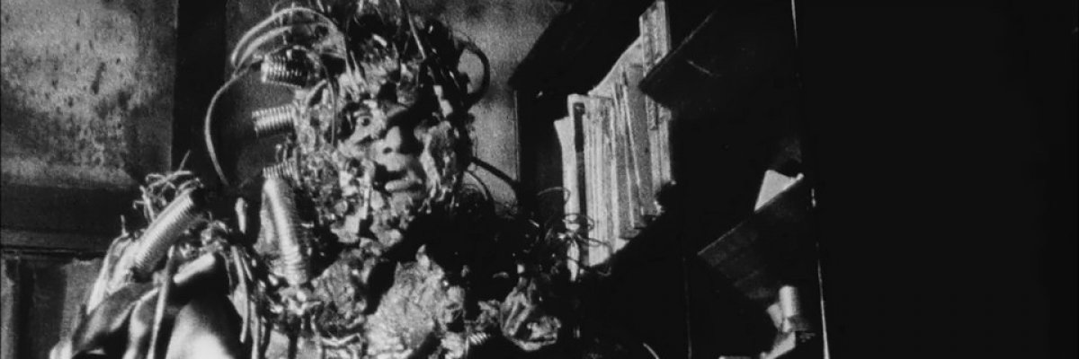 screen capture of Tetsuo: The Iron Man