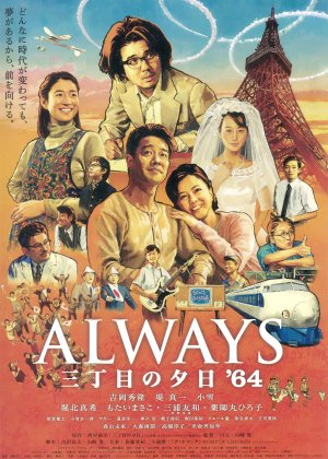 Always: Sunset on Third Street '64 poster