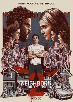 Bad Neighbours 2: Sorority Rising poster