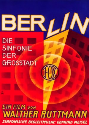 Berlin: Symphony of a Great City poster