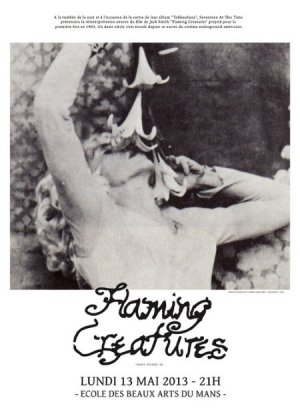 Flaming Creatures poster