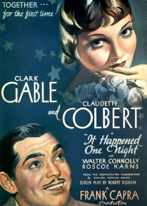 It Happened One Night poster