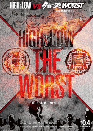 High & Low: The Worst poster