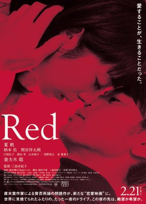 Shape of Red poster