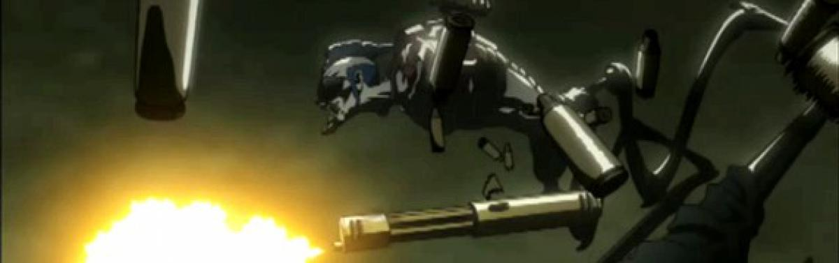 screen cap of Afro Samurai - Resurrection
