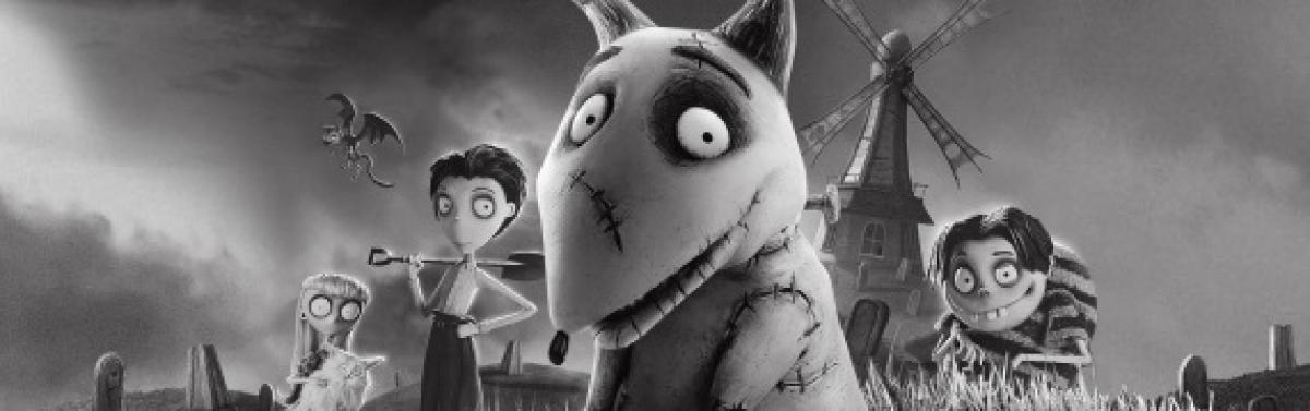 screen capture of Frankenweenie